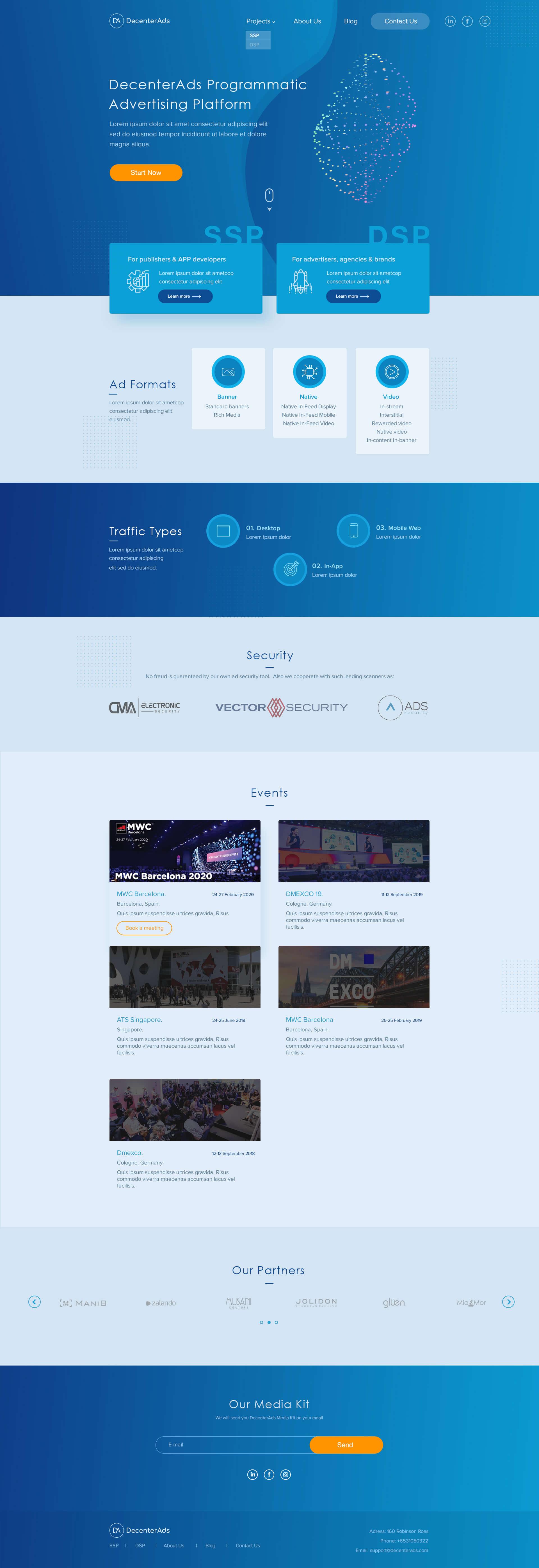 Веб студия для создания сайта